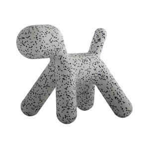 Sivá stolička Magis Puppy Dalmatin, dĺžka 43 cm