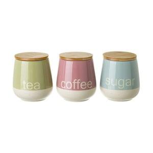 Farebné dózy na čaj, kávu a cukor Unimasa