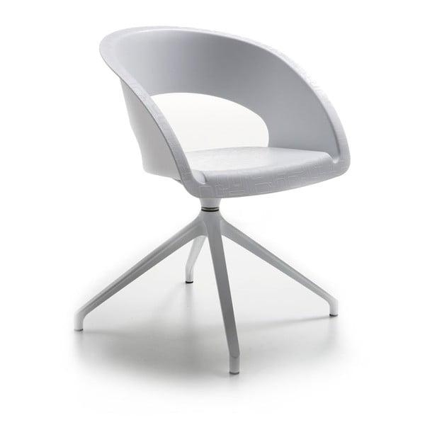 Biela kancelářská stolička ZagoQueFive