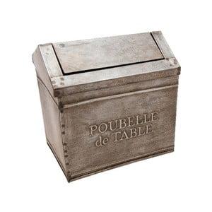 Kovová dóza Antic Line Poubelle