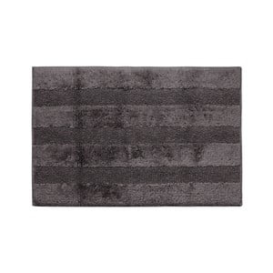 Tmavosivá kúpeľňová predložka Jalouse Maison Tapis De Bain Ardoise, 50×70cm