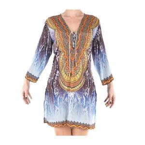 Plážové šaty Kurta modré, veľ. M