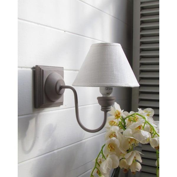 Nástenná lampa Grey Antique