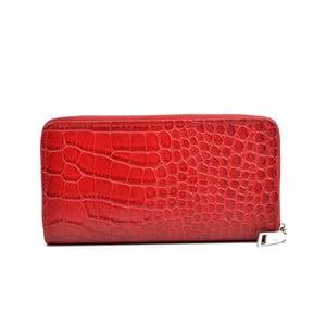 Červená dámska peňaženka Anna Luchini Muro