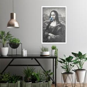 Obraz na plátne OrangeWallz Mona Lisa, 60 x 90 cm