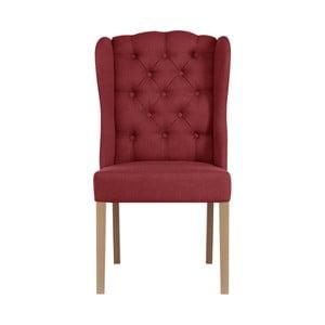 Červená stolička Jalouse Maison Hailey