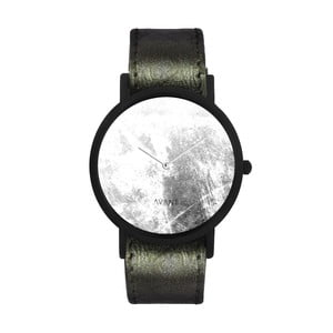 Unisex hodinky s tmavozeleným remienkom South Lane Stockholm Avant Diffuse Invert