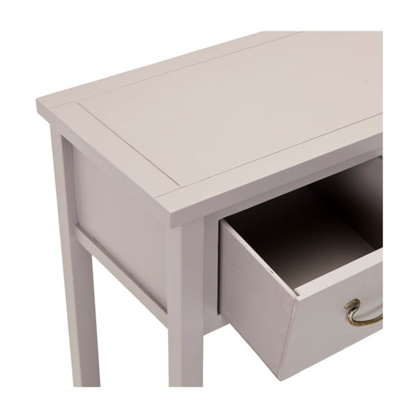 Svetlosivý konzolový stolík Safavieh Riley