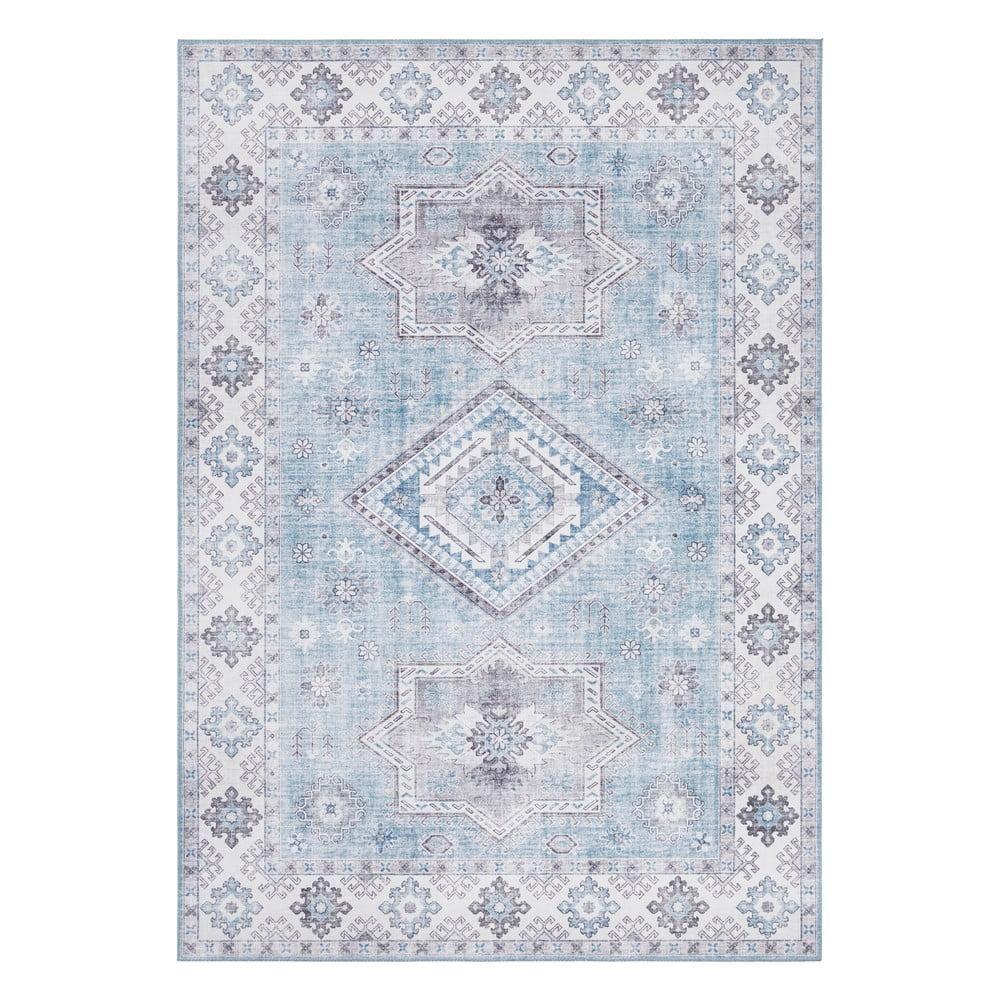 Svetlomodrý koberec Nouristan Gratia, 120 x 160 cm