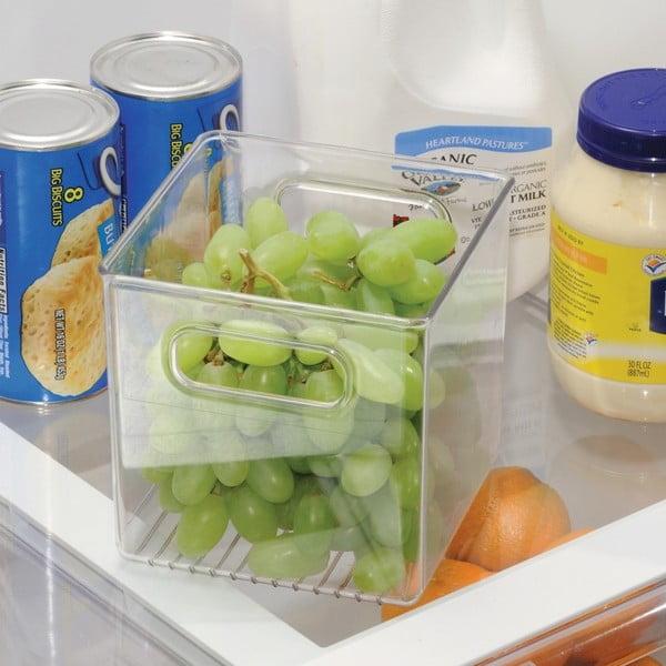 Úložný box do chladničky InterDesign Fridge Pantry, 15×15cm