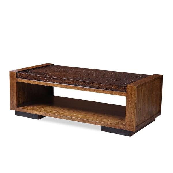 Konferenčný stolček z palisandra Indigodecor, 120x60 cm
