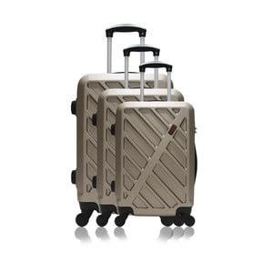 Sada 3 cestovných kufrov na kolieskach Hero Roma