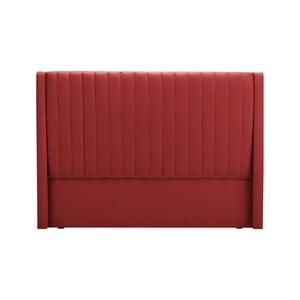 Červené čelo postele Cosmopolitan design Dallas, 200×120 cm