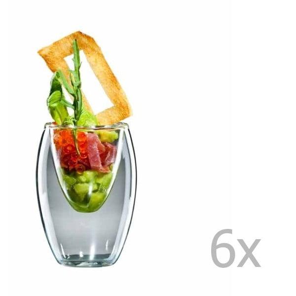 Sada 6 malých pohárov bloomix Ovo