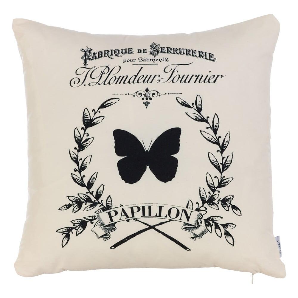Obliečka na vankúš Apolena Papilon, 43 × 43 cm