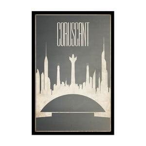 Plagát Coruscant, 35x30 cm