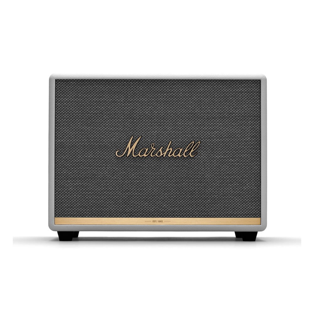 Biely reproduktor s Bluetooth pripojením Marshall Woburn II