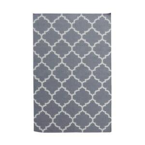 Vlnený koberec Elizabeth Grey, 180x120 cm