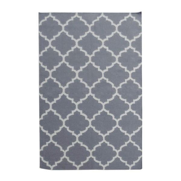 Sivý vlnený koberec Bakero Elizabeth, 240 x 155 cm