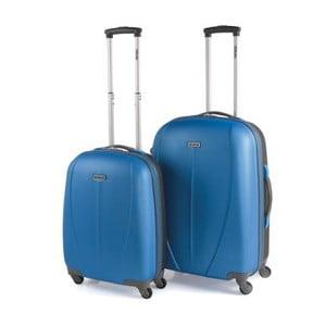 Sada 2 kufrov Tempo, modrá