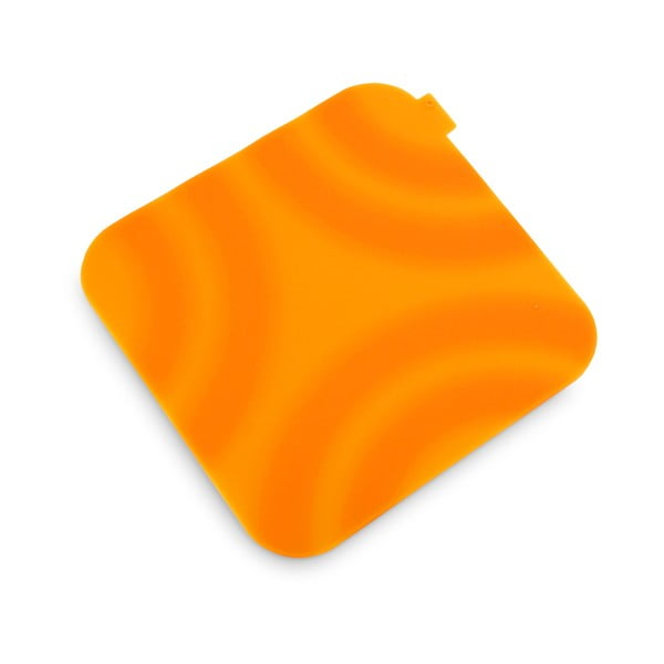 Oranžová silikónová chňapka Vialli Design