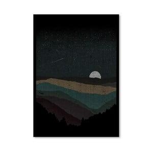 Plagát Moonrise od Florenta Bodart, 30x42 cm