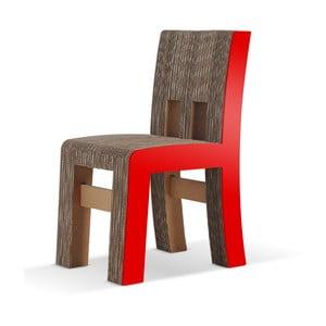 Kartónová stolička Campagnola Red