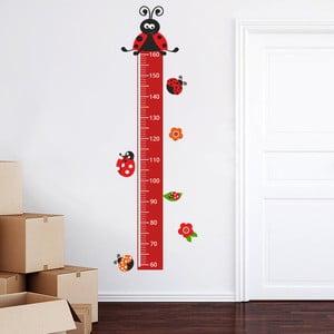 Dekoratívna samolepka na stenu Meter lienky