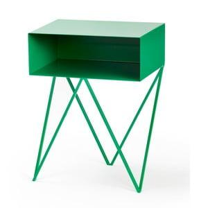 Zelený príručný stolík &New Robot