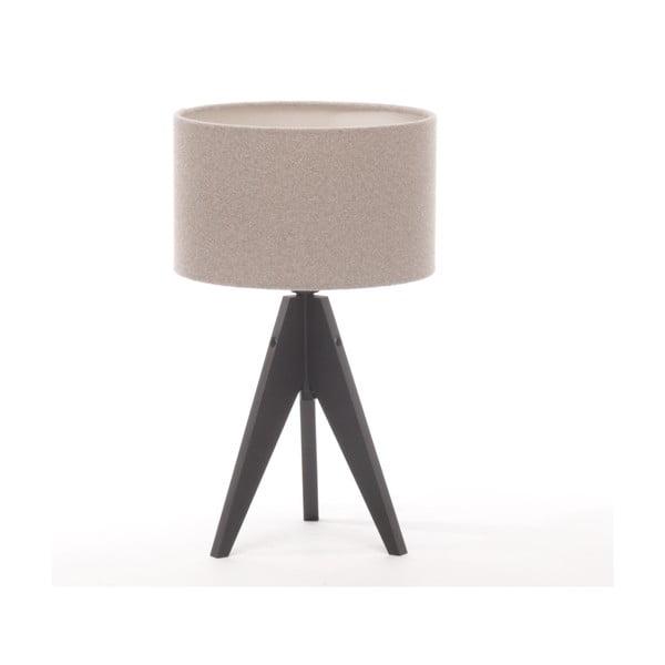 Stolná lampa Arist Cylinder Brown Grey/Black