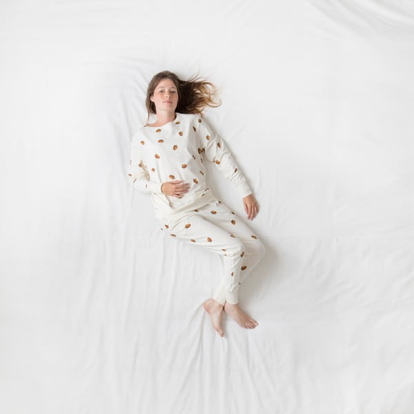 Dámske biele nohavice Snurk Winternuts, S
