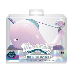 Stojan na lepiacu pásku npw™ Mermaid Narwhal