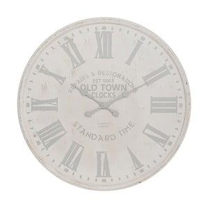 Hodiny White and Grey, 60 cm