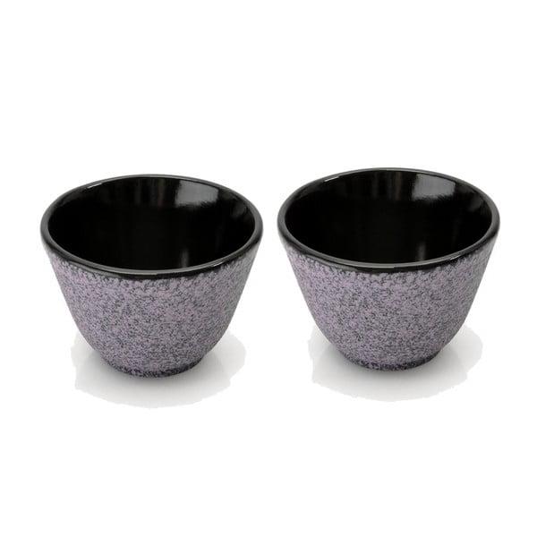 Set 2 kalíškov na čaj Stone