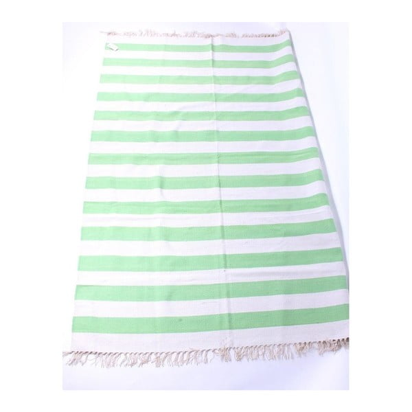 Koberec La Finesse Stribes Green, 140x200 cm