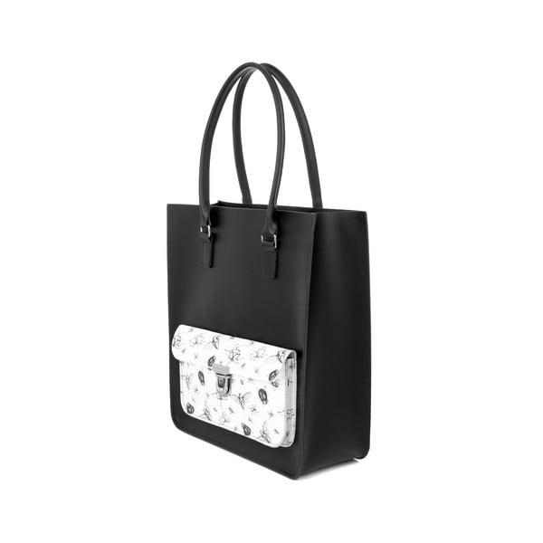 Kožená kabelka Taylor Tote Black/Bugs