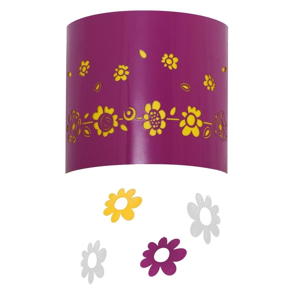 Nástenné svietidlo Glimte Spring Amaranth