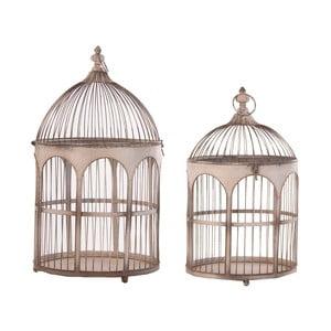 Sada 2 dekoratívnych vtáčích klietok VICAL HOME Viona