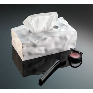 Box na vreckovky Wipy II White