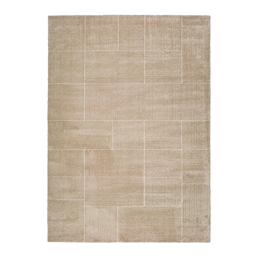 Béžový koberec Universal Tanum Dice, 120 x 170 cm