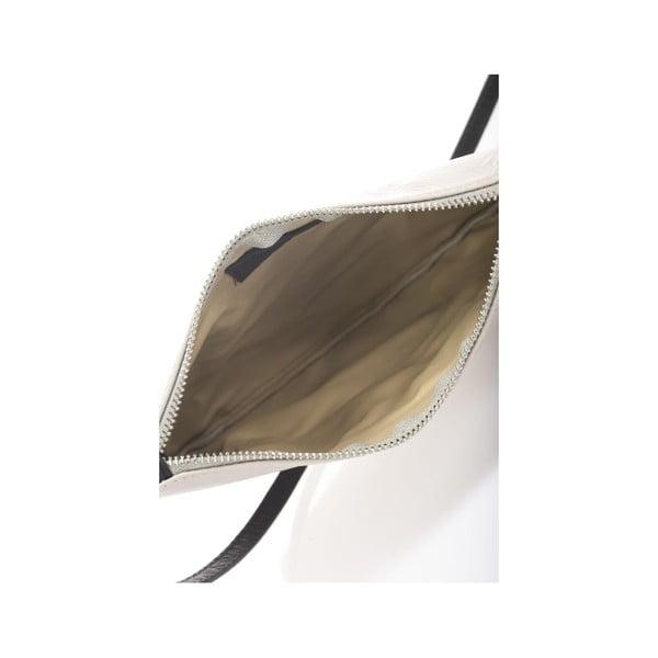 Sivá kožená kabelka Krole Kody