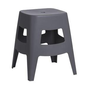 Stolička D2 Tower, sivá