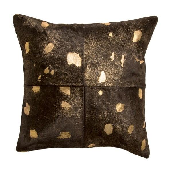 Vankúš Capa Black Gold, 45x45 cm