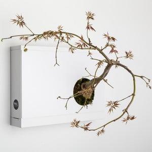 Nástenný kvetináč Artkami Destra, 38x27 cm