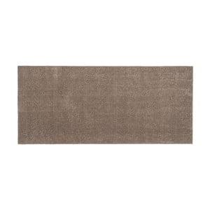 Hnedo-béžová rohožka Tica Copenhagen Unicolor, 67 x 150 cm