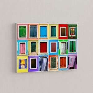 Obraz Záplava farieb, 50x70 cm