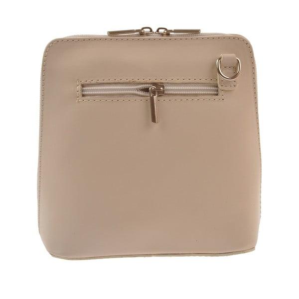 Béžová kožená kabelka FlorenceBagsVaire