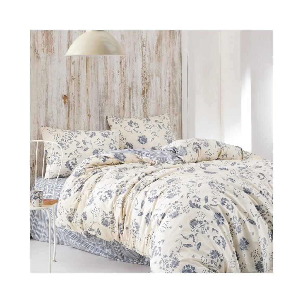 Obliečky z bavlny na dvojlôžko s plachtou Colbert, 220 × 240 cm
