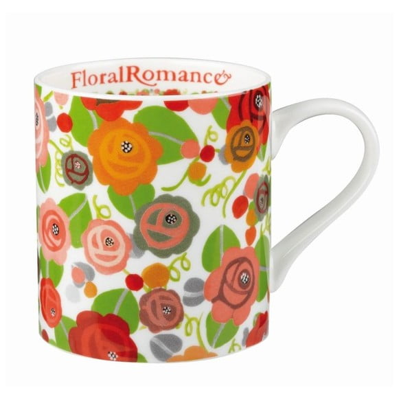 Hrnček JD Floral Romance, 340 ml