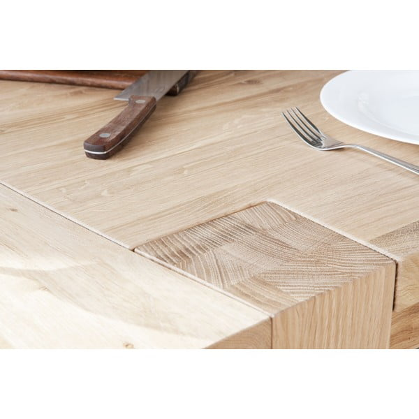 Stôl z dubového dreva Fornestas Goliath, 220x100 cm